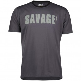 Simply Savage Tee: Grey