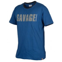 Simply Savage Tee: Blue
